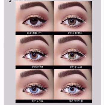 Hot Sell Colors Contact Lens Pro Series India Natural Eye Color