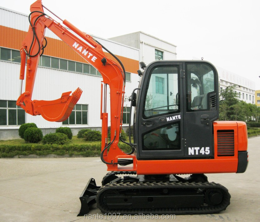 wholesale nante 4 ton mini crawel digger