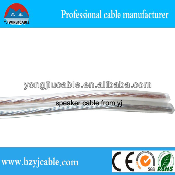 professional Speaker Cable speaker cable high end twin core oxygen free electric wire