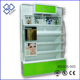Fashion style clear cosmetics display design showcase make up shop counter
