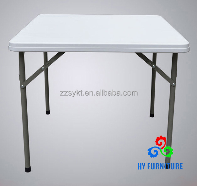 High quatlity folding tables portable plastic indoor outdoor picnic party dining camp tables