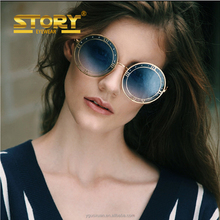6c2fde77774 STORY STY7109F clock arrow round sunglasses men personalized fashion  coloful unisex. 2016 hollow double ...
