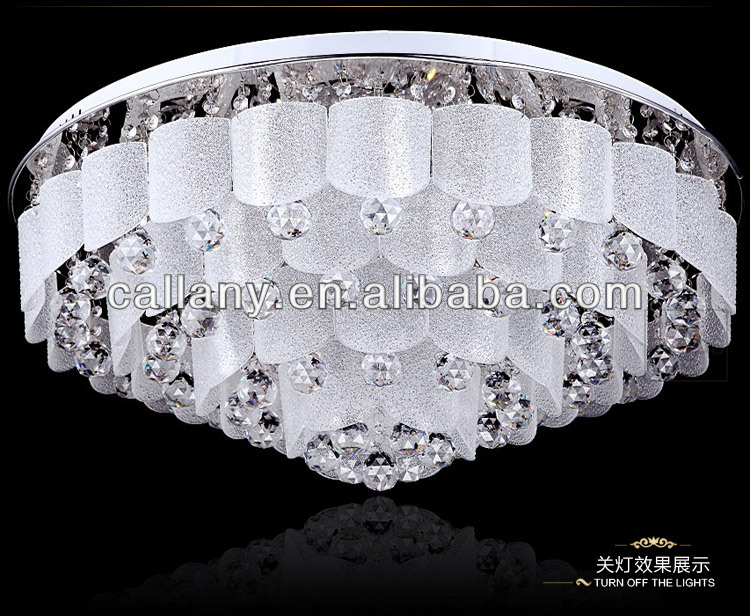LED crystal ceiling light home ceiling lamp