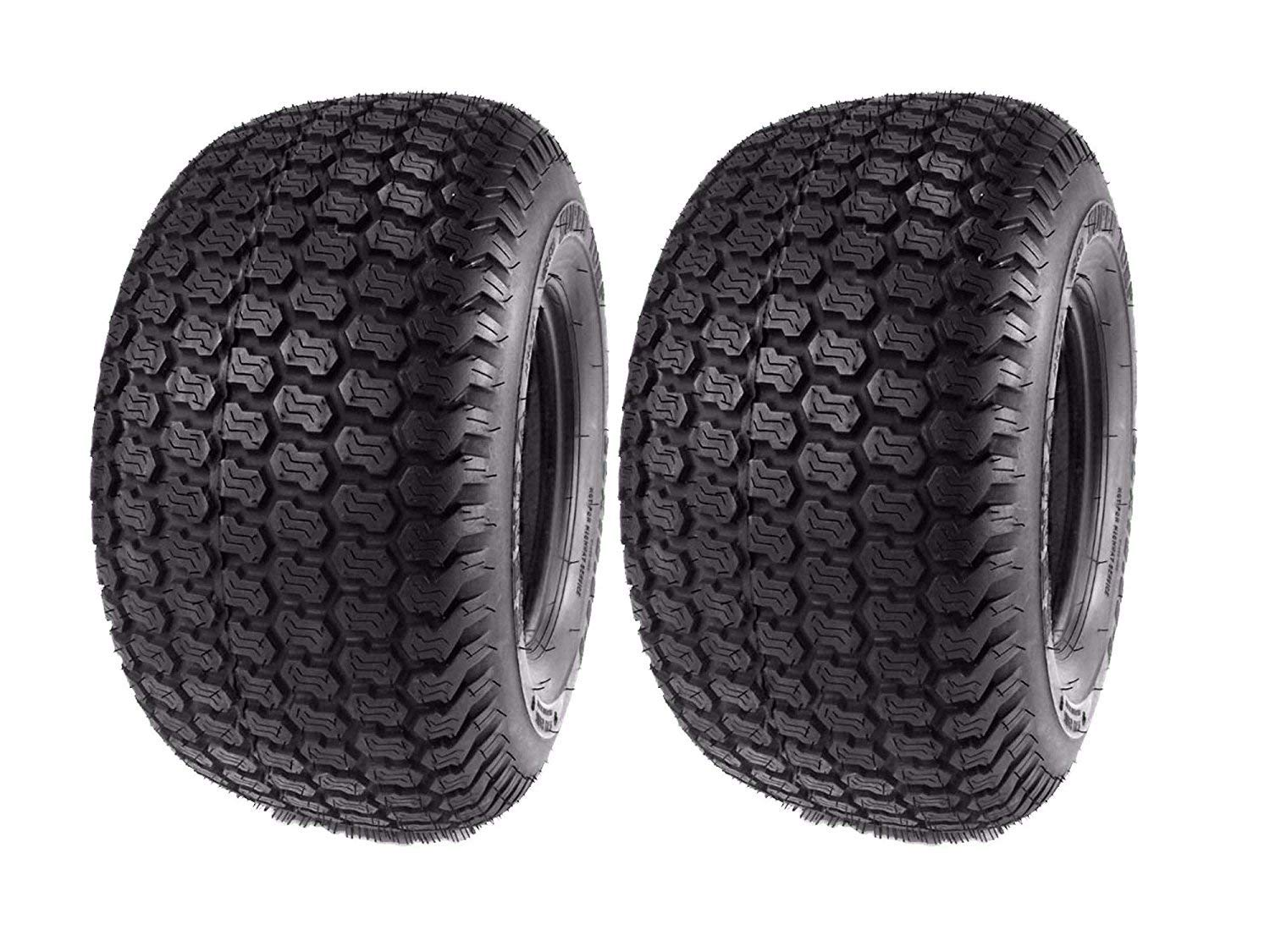 "8/"" Turf Tread Tire 4 Ply Tubeless Tractor Tire 16/"" x 6.50/"""