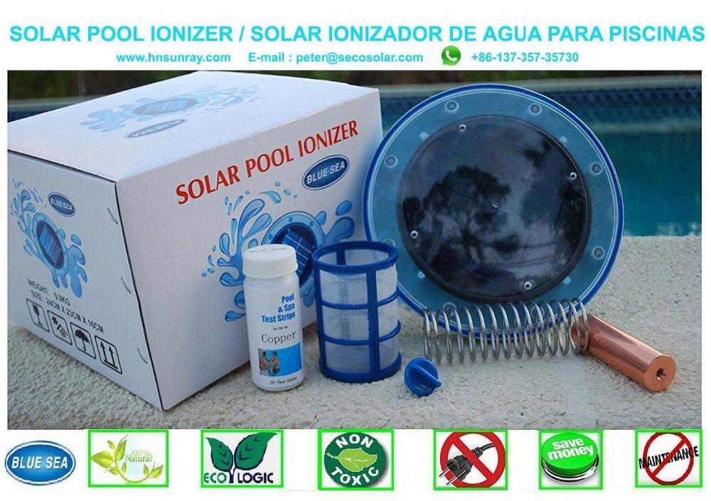 Solar Swimming Pool Ionizer /solar Swimming Pool Purifier/ Reduce 85%-95%  Chlorine - Buy Solar Swimming Pool Ionizer,Solar Swimming Pool ...
