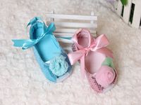 Lovely lace ballet Baby soft sole Dress shoe infant moccasins prewalker 2 styles