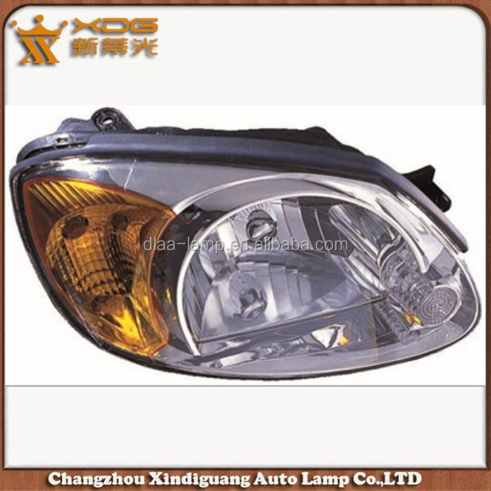 12v high quality and high power accent 03-05 head lamp