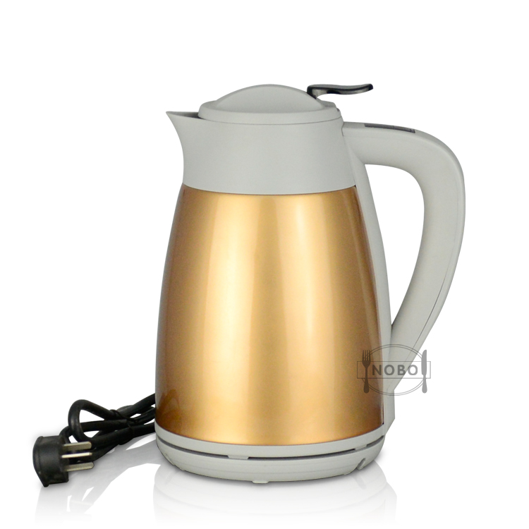 NOBO Auto Shut-Off Fast Heating Water Boiler 304 Stainless Steel Superior Electronic Kettle with Strix Controller