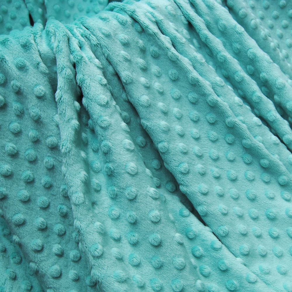 26 Colors Polyester Wholesale In Stock Minky Dimple Fabric