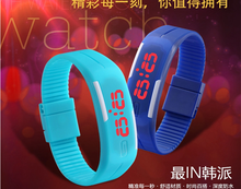 2015 hot sale LED watch good for promotional gift silicone watch,