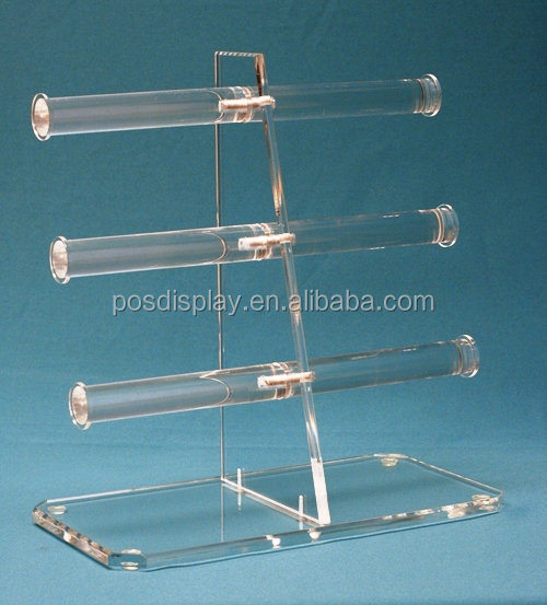 Clear Acrylic Wine Stopper Display Rack For 5 Stopper/wine Bottle ...