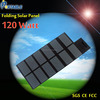 120W Foldable and Portable Solar Charger Bag 18V Output for PC