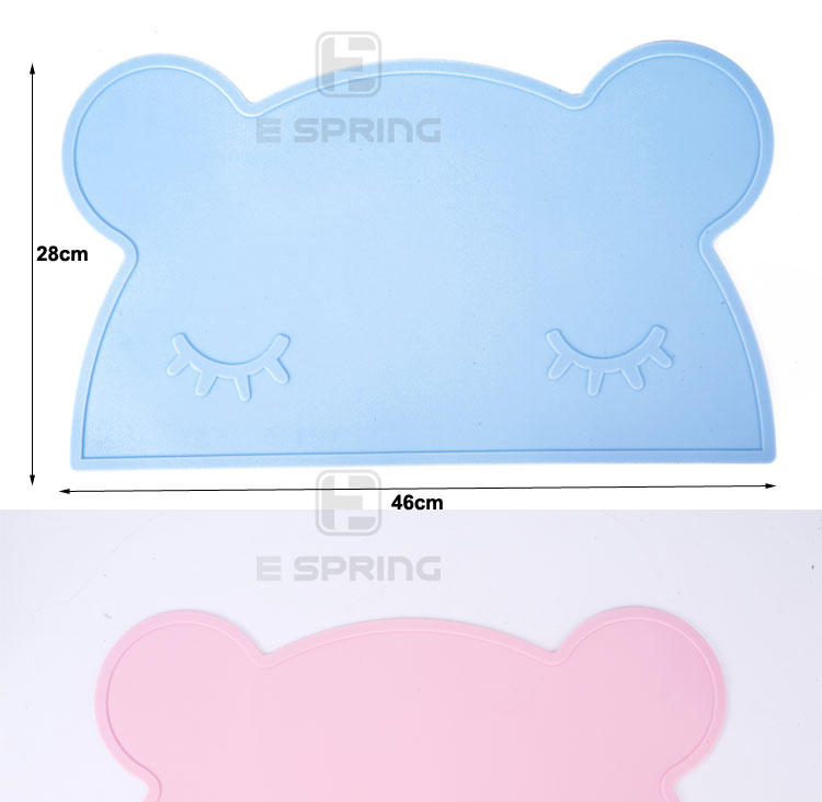 Children Safe Silicone Baby Placemats