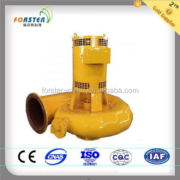 magnetic water bulb tubular turbine electric generators with large flow