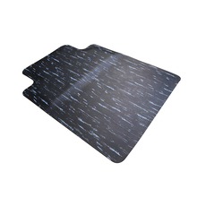 Branded new style black anti-fatigue office floor chair mat