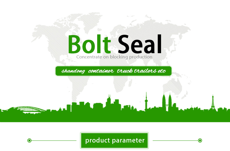 High security cargo container bolt seal for sale REB104