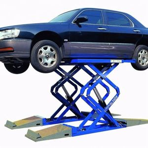 Weight hot sale outdoor car lift 1 year warranty
