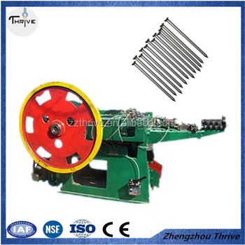 Umbrella Roofing Nail Making Machine Automatic For Metal Used In S Metallurgy