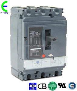 Manufacturer good quality three phase NSX100 80A MCCB 3p molded case circuit breaker