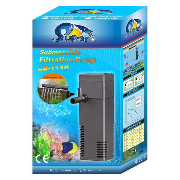 Super Aquatic Aquarium Fish Tank Submersible Filtration Pump ...