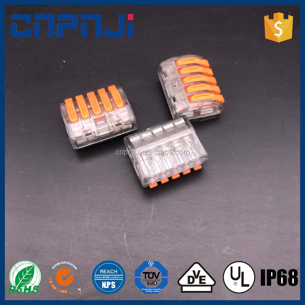 Wago Suppliers And Manufacturers At Connector 2 Wire 222 412 Compact Terminal Block Lever Cage Clamp