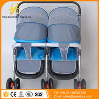 multi function kids twin baby stroller 3 in 1/ best baby stroller for twins / mother baby stroller bike