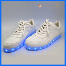 Rechargeable Shining Flashing Lights Shoes