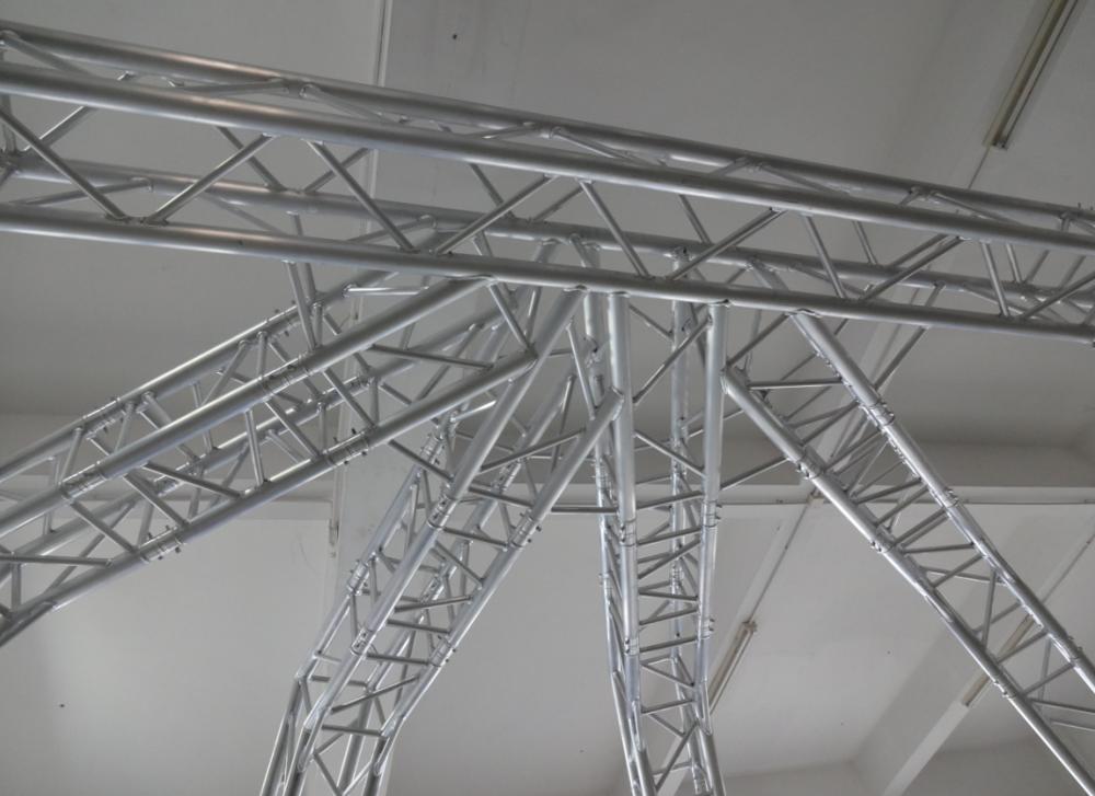 220mm easy install ceiling lighting truss system round for Buy truss