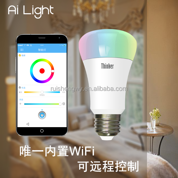 WiFi RGB Smart Light Rgbw Led <strong>Bulb</strong>
