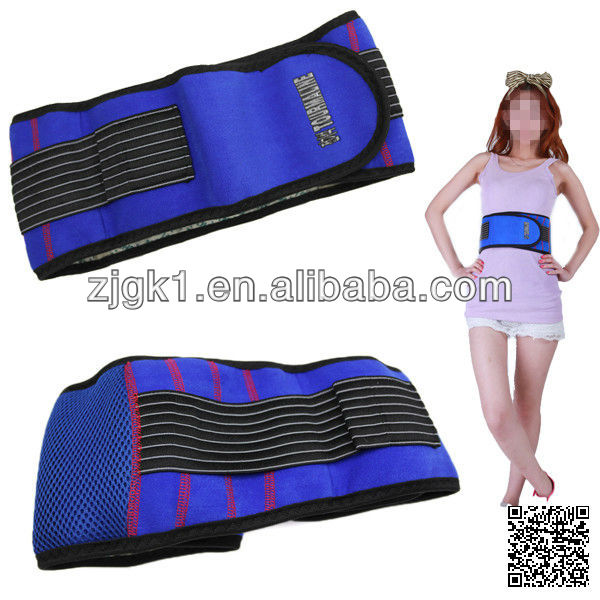 Fashion and nice jewel blue waist protector