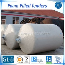 Dia 2x3.5m Polyurethane EVA foam filled fender/Marine Floating Fender