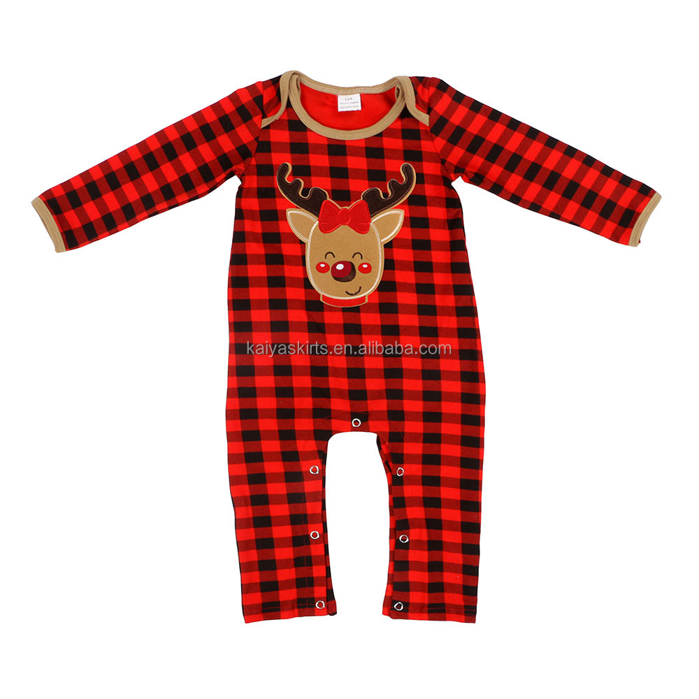 Bulk Sale Christmas Children Frock Romper Newborn <strong>Baby</strong> <strong>Jumpsuit</strong>