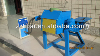 Aluminum/copper/gold/silver induction melting furnace 30kw