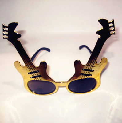 Christmas wholesale supply guitar style party Sunglasses