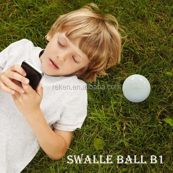 children toys waterproof led golf ball swalle bluetooth robotic ball gaming system