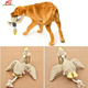 Pets Training Playing Chewing Squeaky Flying Duck Durable Dog Cat Pet Chew Toy