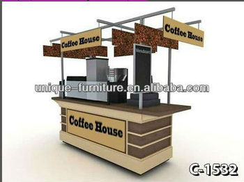 Modern Coffee Cart Furniture Indoor Plant Stands Acrylic Rolling Custom