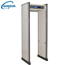 High technology content airport waterproof walk though metal detector full body scanning