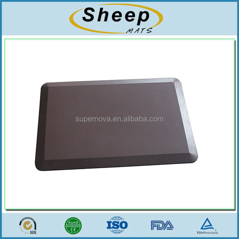 Anti fatigue anti-slip rubber kitchen mats
