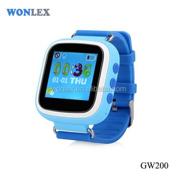 Wonlex Gw Best Buy Kids Gps Watch Smallest Gps Tracker With Sos Button Free Platform