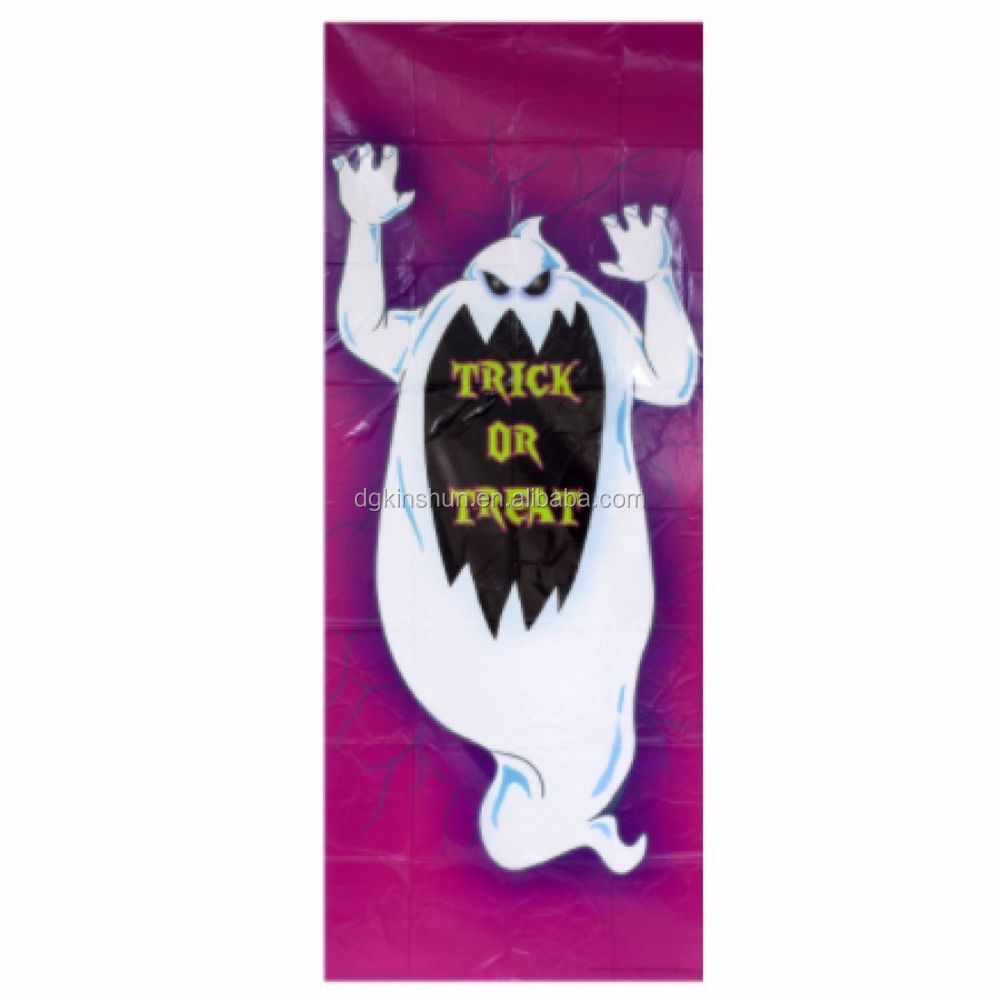 Hallowen Decoration Haunted House Green Goblin Door covers