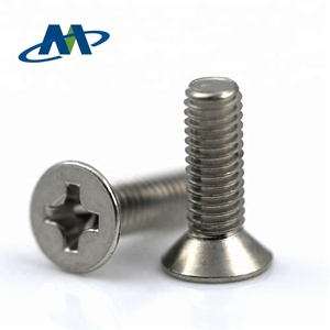 Stainless Steel Cross Countersunk Head Machine Screw