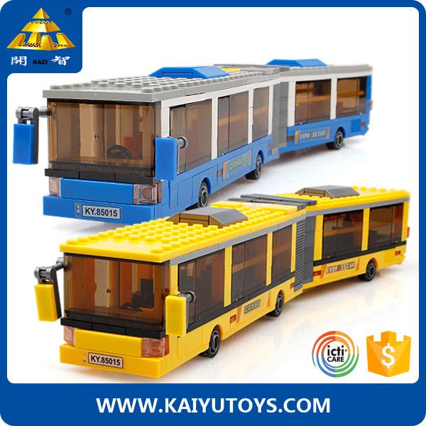 KAZI building blocks 371pcs hello xxx toy plastic brick toys bus, View xxx  toy plastic, KAZI Product Details from Guangdong Kaiyu Science & Education