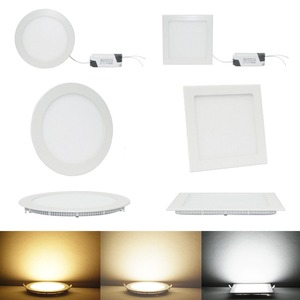 CCT color temperature adjustable led panel light recessed led panel
