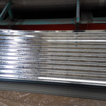 34 gauge sheet of galvanized steel SGCH G550 Full hard corrugated roof tile