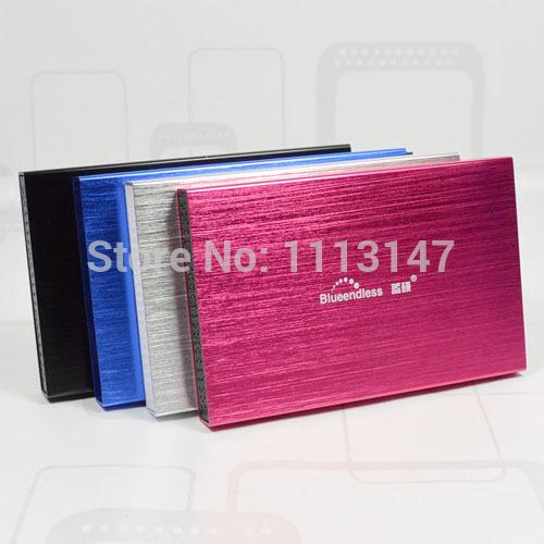 Free shipping Slim Metal design Mobile HDD Portable Disk 40GB 2 5 USB2 0 Laptop Desktop