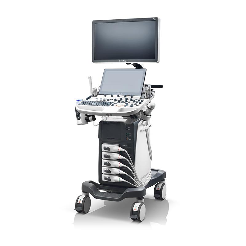 sonoscape p50 high quality advanced trolley color doppler ultrasound scanner machine price