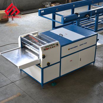 650 UV coater item and Engineers available to service machinery overseas After-sales Service Provided UV Coater