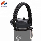 550IB 조절 수 제 Paracord Handle 물 병 Handle 와 Safety 링 Holds hydroflask handle paracord