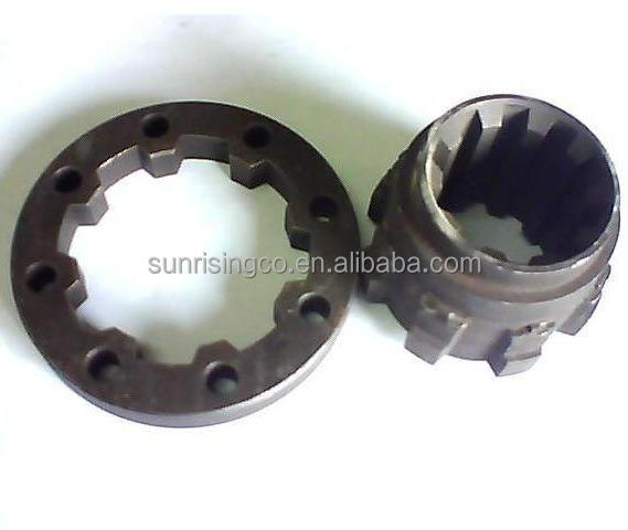 OEM clutch disc hub and spline